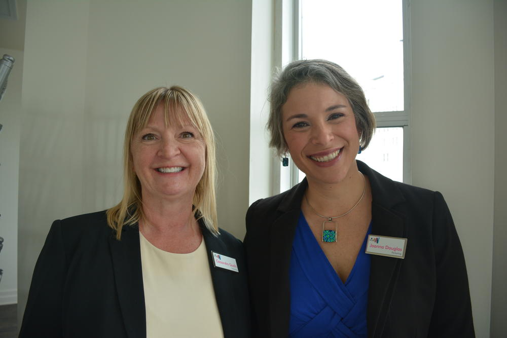 Cassandra Qualls (left) and Joanna Douglas (right) | Parketing