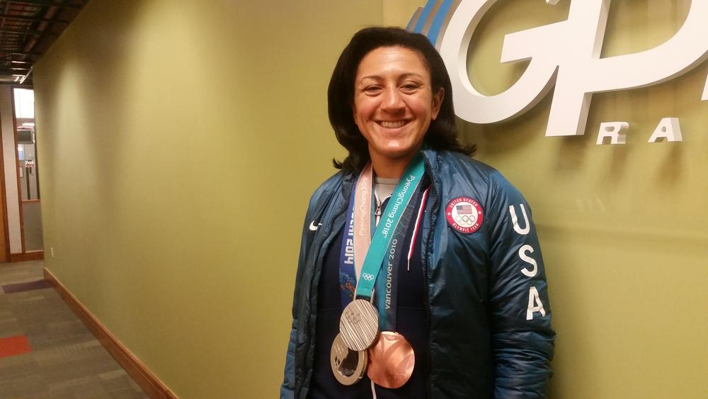 Three-time Olympic medalist and Douglasville native Elena Meyers Taylor is donating her brain to help study the long-term effects of concussion