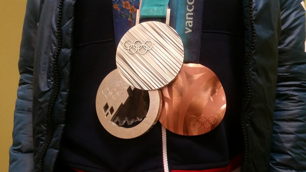 Elana's medals includes a Bronze in Vancouver (2010), a Silver in Sochi (2014), and another Silver in Korea (2018)