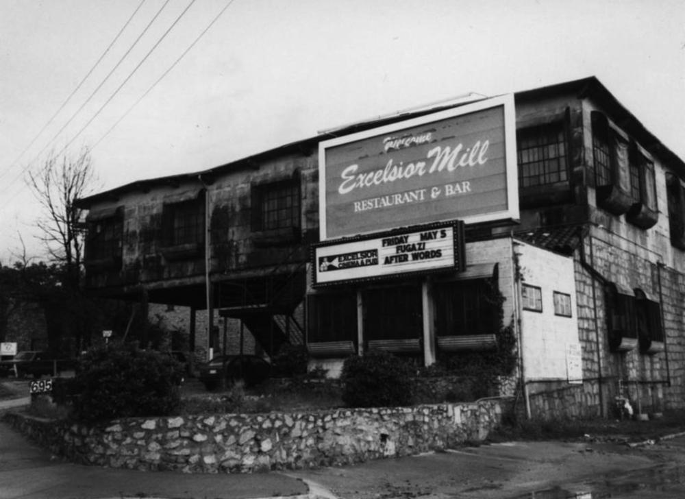 Prior to the Masquerade opening in 1989, the DuPre Excelsior Mill experienced a decade's worth of music history.