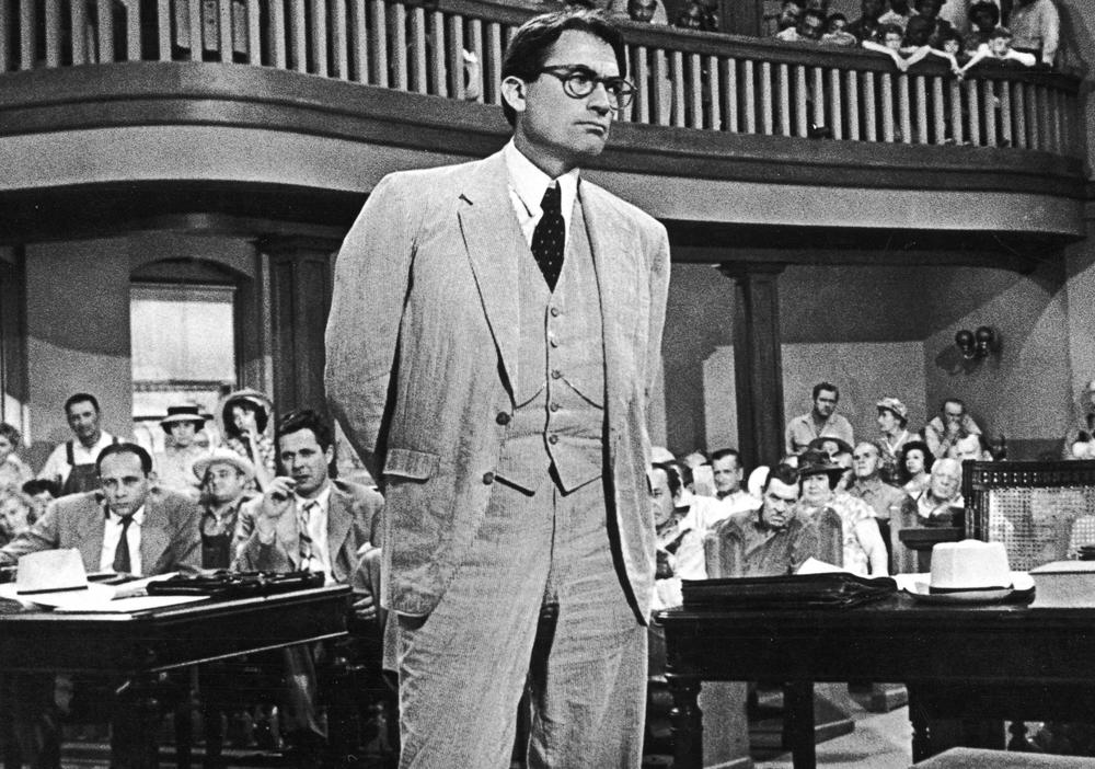 Gregory Peck played one of the most famous lawyers as Atticus Finch in the film adaptation of