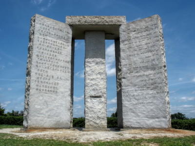 The Georgia Guidestones in Elbert County have become a magnet for conspiracy theorists.