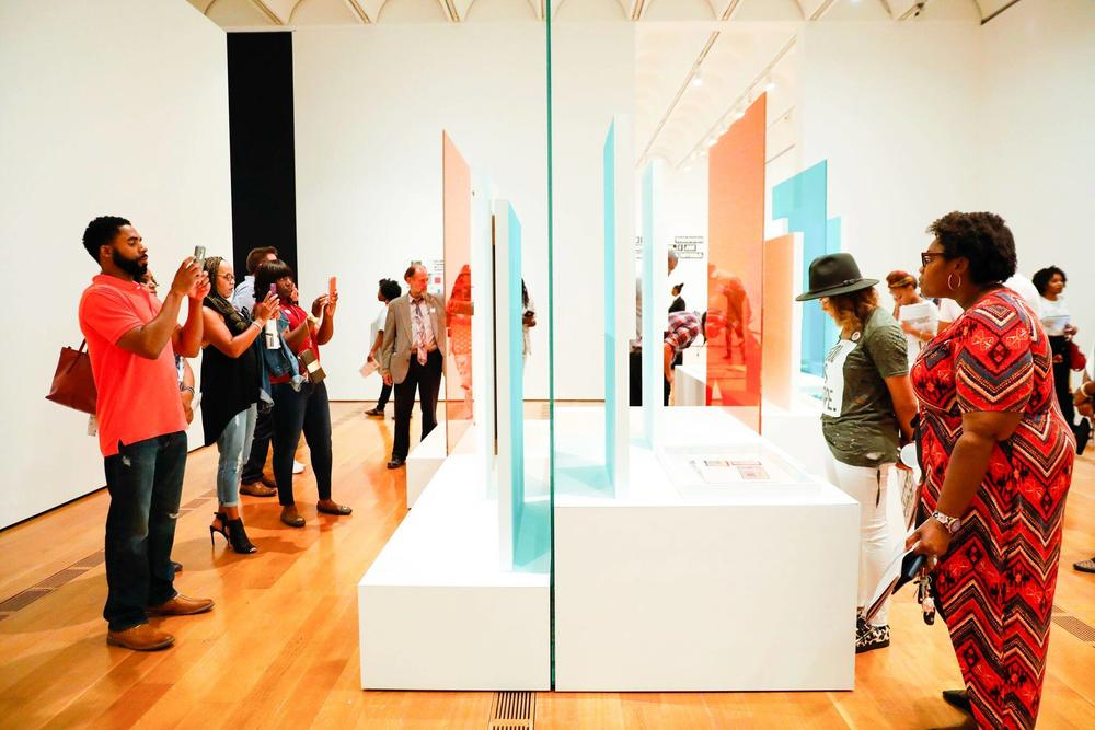 The High Museum of Art in Atlanta has made strides to increase diversity among its non-white visitors.