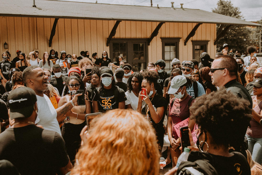 Cities across the state, including Kennesaw, Cartersville and Athens hosted protests against the death of George Floyd.