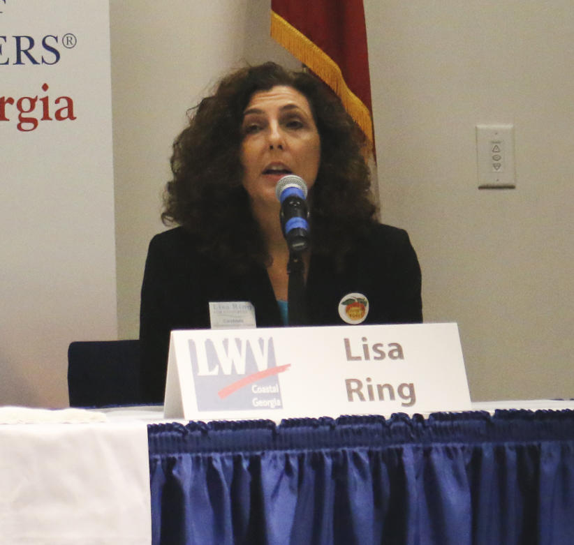 Democratic candidate Lisa Ring