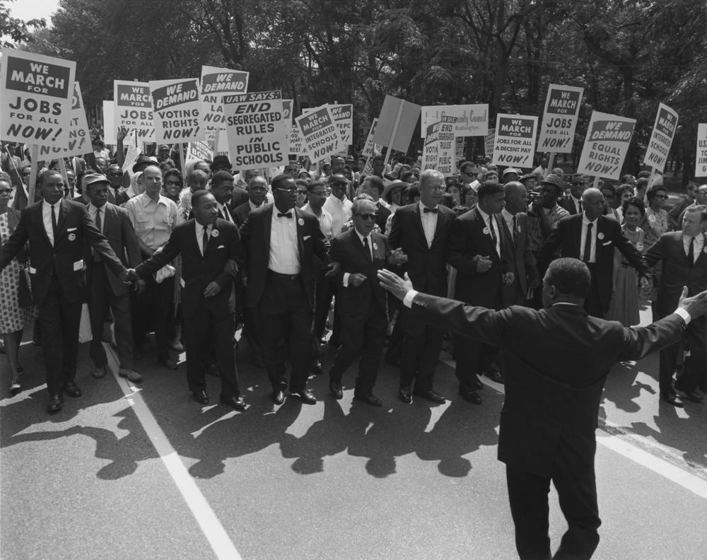 The March on Washington in 1963.