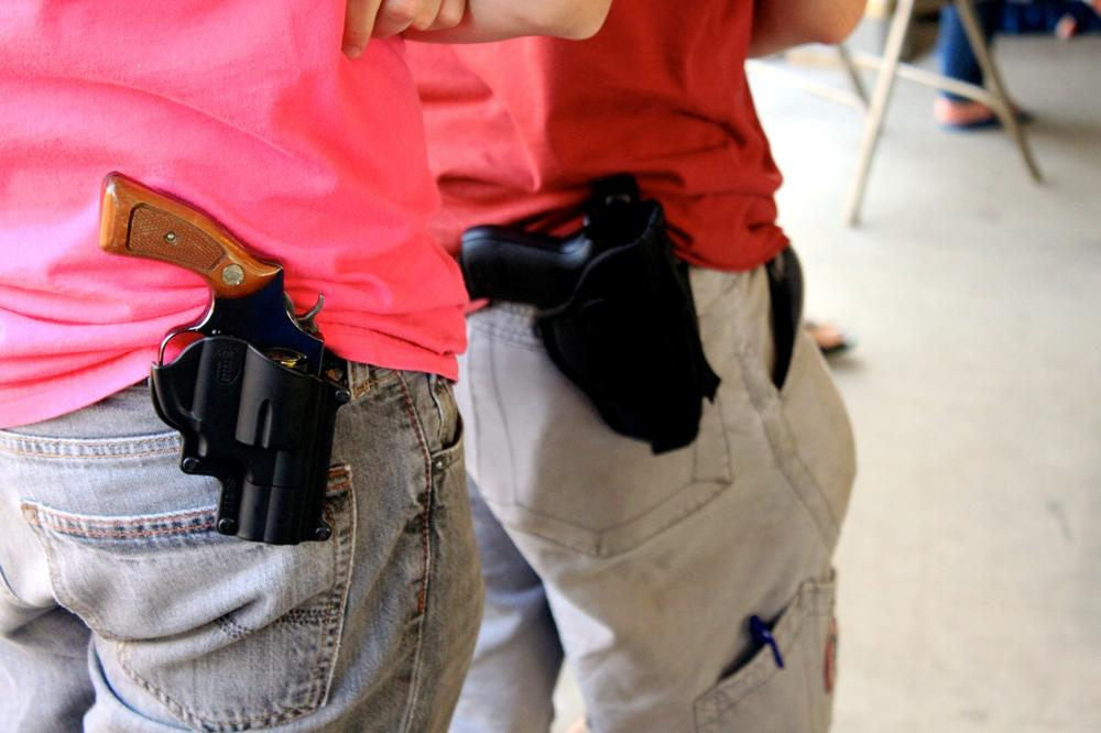 Concealed handguns are one step away from being allowed on public college campuses in Georgia.