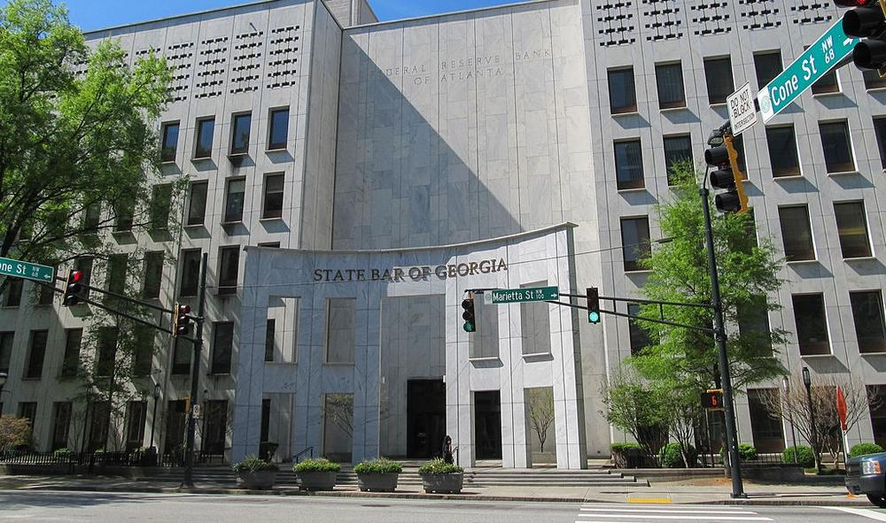 The State Bar of Georgia headquarters in downtown Atlanta.