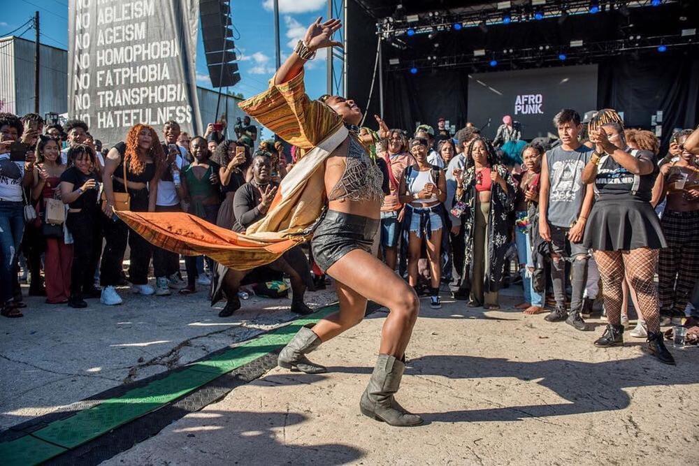 Scene of Afropunk Festival Atlanta in 2018