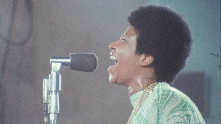 """A still from the documentary """"Amazing Grace."""""""