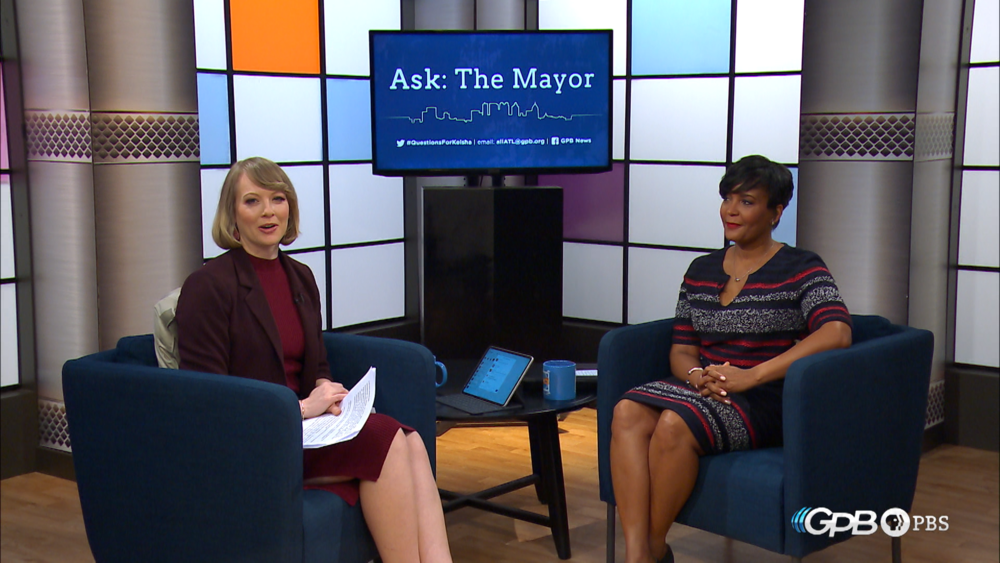 Submit your questions for the mayor on Twitter with the hashtag #QuestionsForKeisha or by email at allATL@gpb.org.