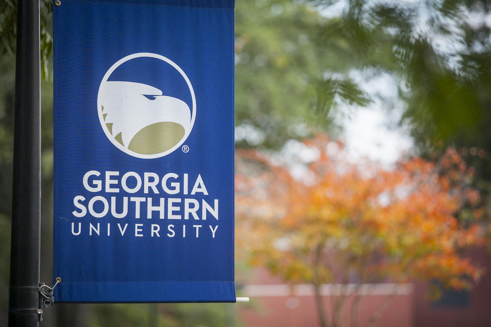 Some Georgia Southern University students burned the book of after its author spoke on the school's Statesboro campus.