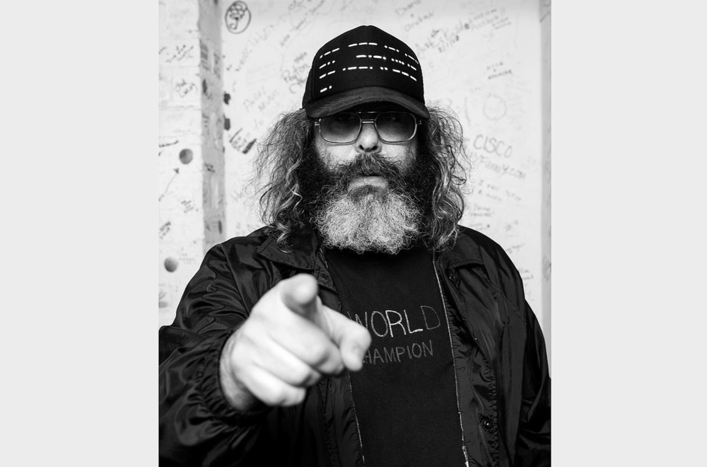 "Judah Friedlander has been touring the country with a new stand-up comedy show called ""Judah Friedlander: Future President."""