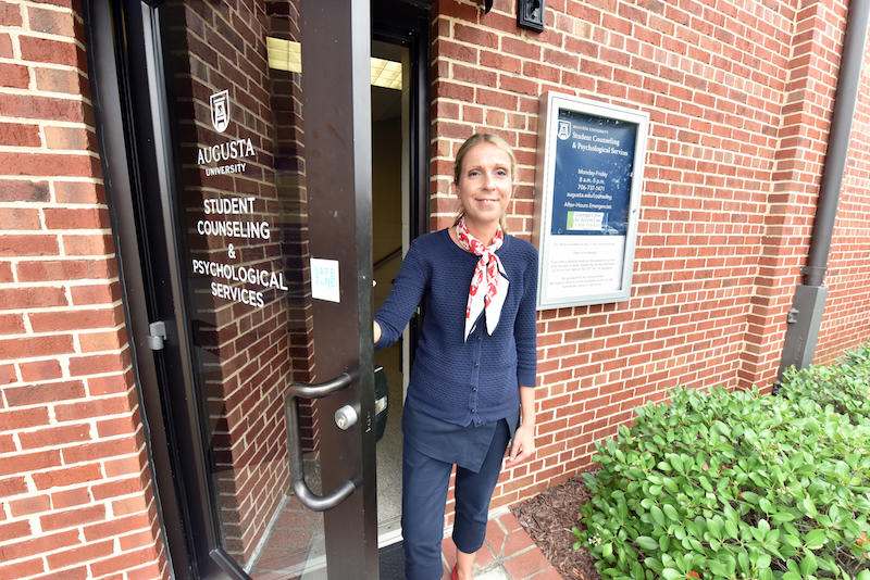 Elena Petrova is the director of Augusta University's Student Counseling and Psychological Services
