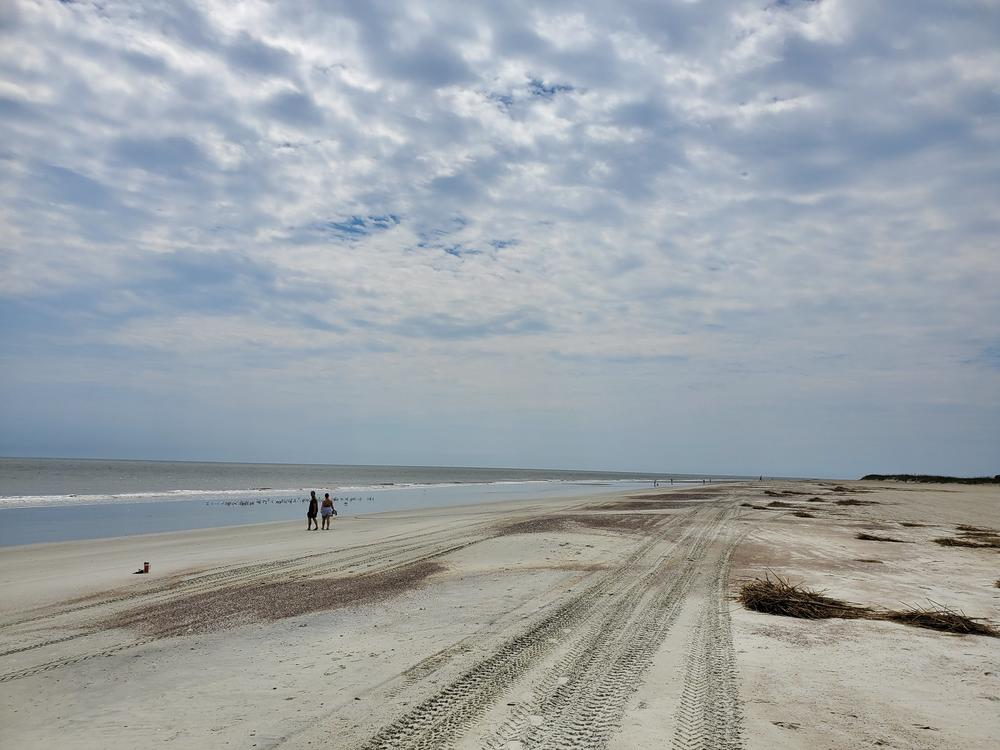 Tybee Island beaches were empty in early April as the city kept most beach access points closed. They are reopening soon.