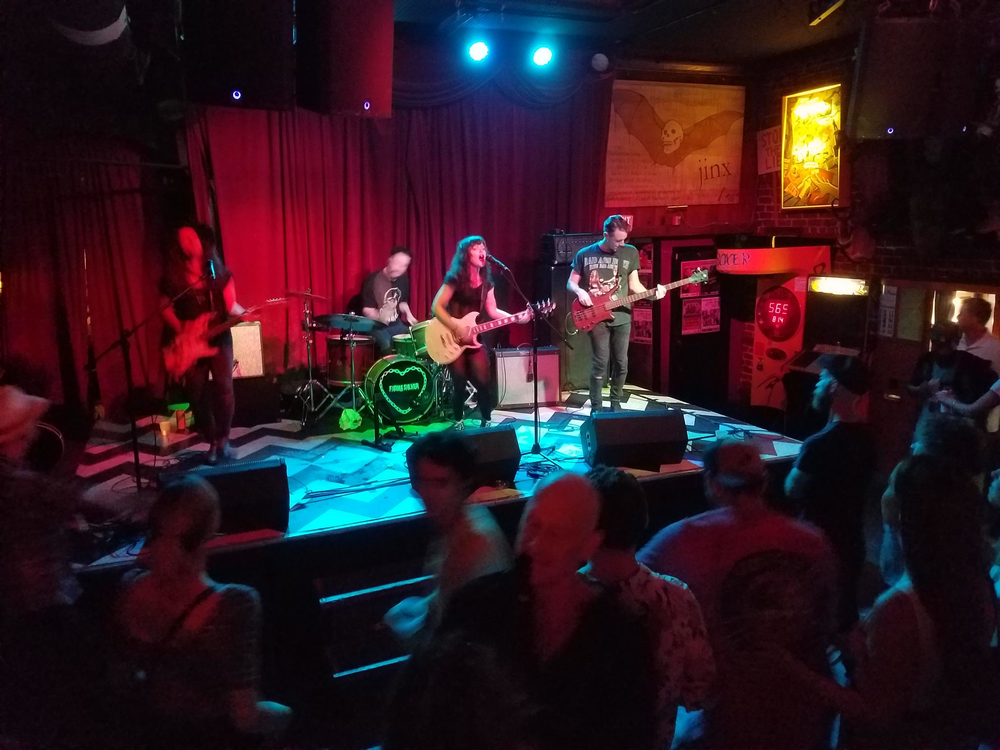 The crowd at the Fiona Shaw concert at The Jinx in Savannah, GA on Friday, Sept. 20, 2019.