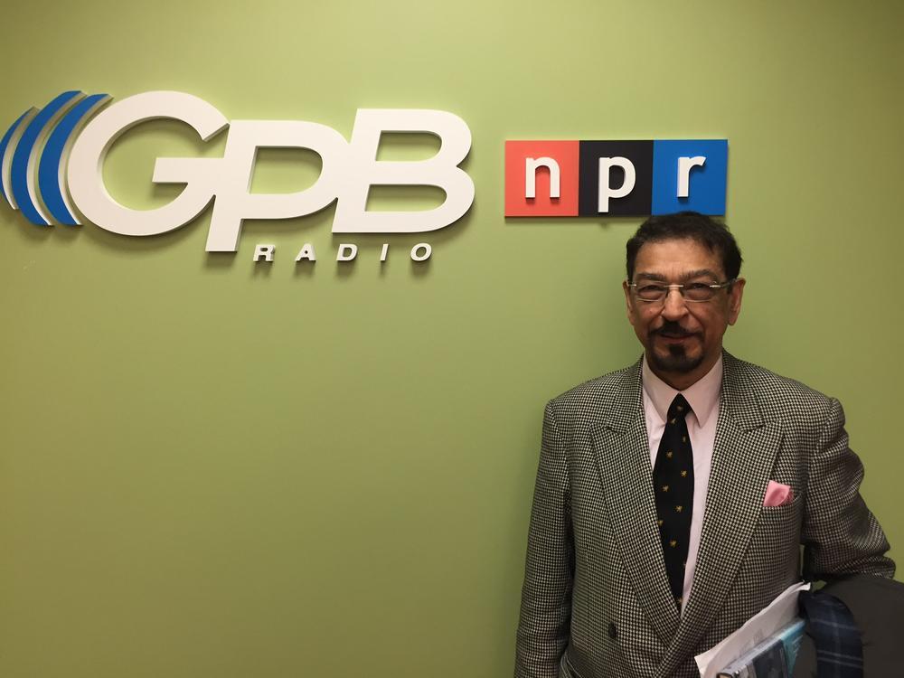 Attorney  Mohamed Keshavjee is in Atlanta to receive the Gandhi-King-Ikeda Award for Peace.
