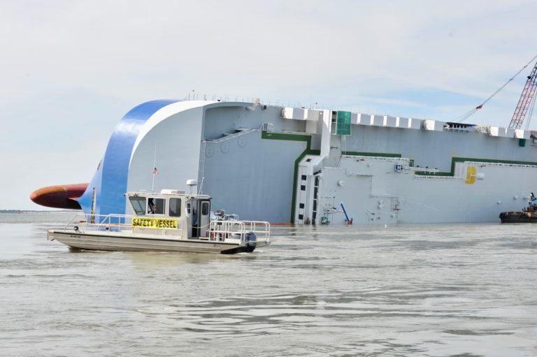 The capsized ship Golden Ray, which has released oil into the surrounding waterways, made the Georgia Water Coalition's
