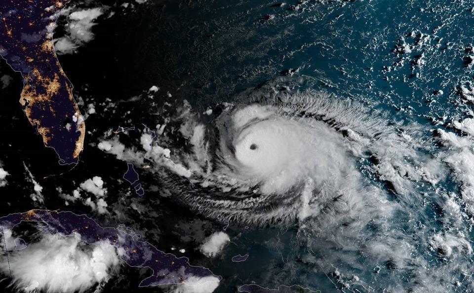 Dorian becomes a Category 4 hurricane.