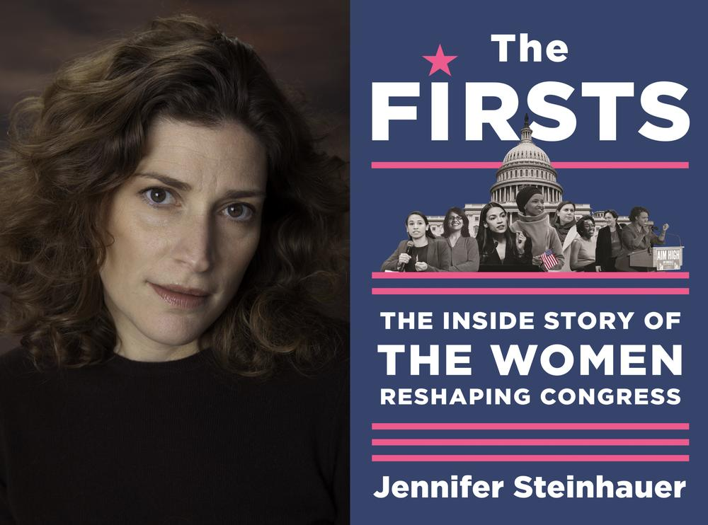 "Journalist and author Jennifer Steinhauer joined Virginia Prescott for a new virtual author talks series presented by the Atlanta History Center. They discussed Steinhauer's new book, ""The Firsts: The Inside Story of the Women Reshaping Congress."""