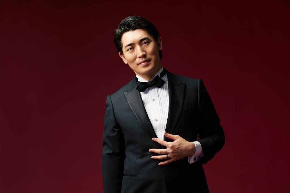 Keitaro Harada, music director and artistic director designate of the Savannah Philharmonic
