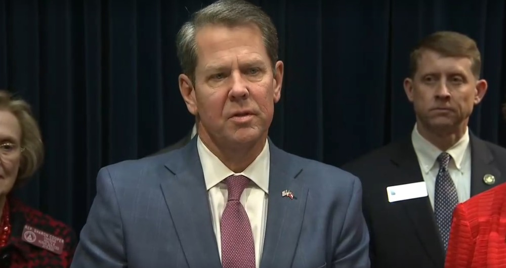 Gov. Brian Kemp updates residents on coronavirus Thursday, March 5, 2020.