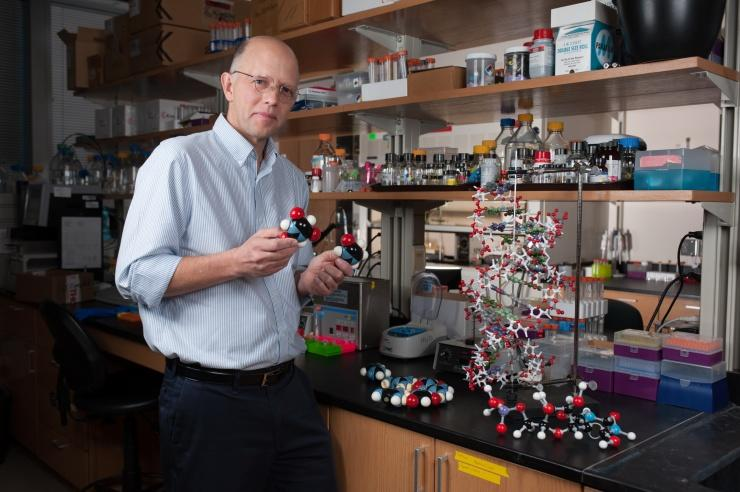 Georgia Tech's Nick Hud researches the possible origins of life chemicals on early Earth