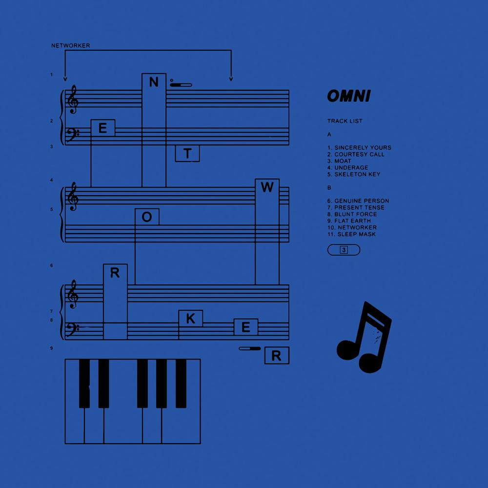 Omni's new album, called 'Networker,' is out today.