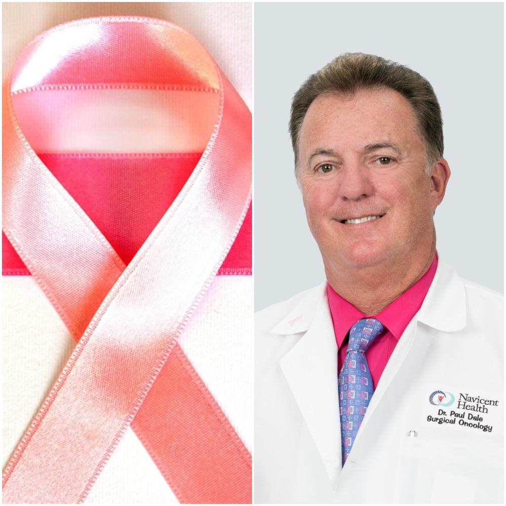 Dr. Paul Dale, who is the Chief of Surgical Oncology at Navicent Health in Macon, speaks with GPB's Morning Edition about male breast cancer.