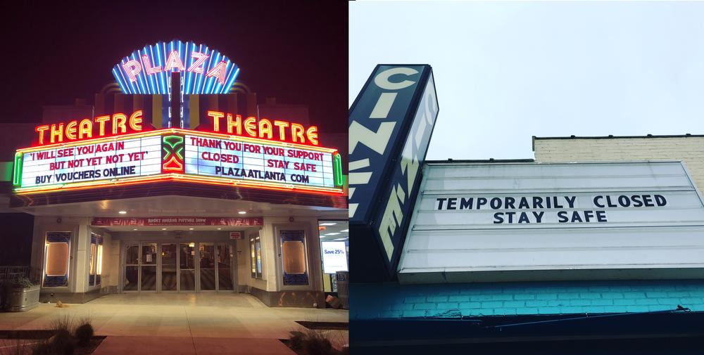 Independent cinemas, like Plaza Theatre in Atlanta and Ciné in Athens, are offering special programming and online streaming while closed for quarantine.