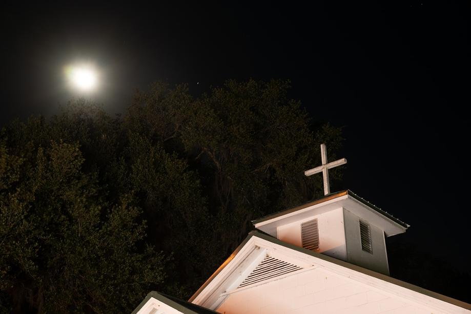 The Rising Daughter Baptist Church in Spring Bluff, Georgia was the site of a double murder in 1985. New details on the case, thanks in part to reporting done by AJC reporter Joshua Sharpe, led to the GBI reopening the case earlier this month.