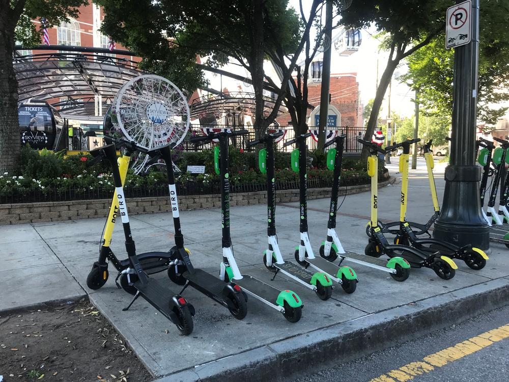 Atlanta Mayor Keisha Lance Bottoms put a nighttime ban on scooters in the city.