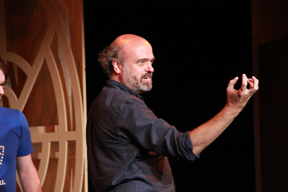 Comedian and actor Scott Adsit will perform at Dad's Garage Friday and Saturday.