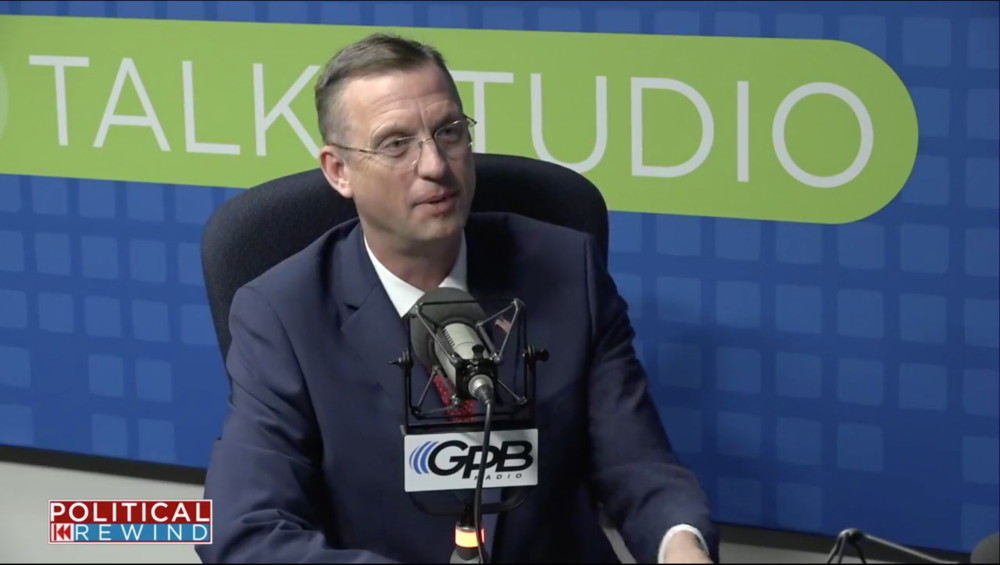 Rep. Doug Collins (R-Gainesville) told GPB's Political Rewind he would not leave the U.S. Senate special election race for a presidential appointment if offered one.