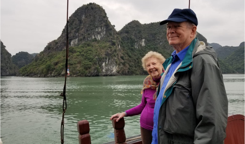 Renee and Clyde Smith in Vietnam