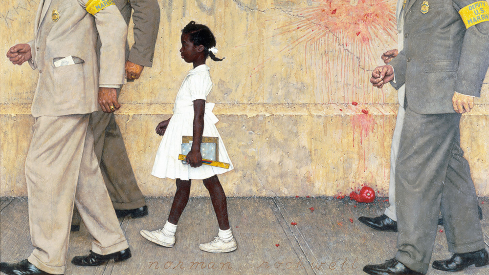 The 1964 Norman Rockwell painting