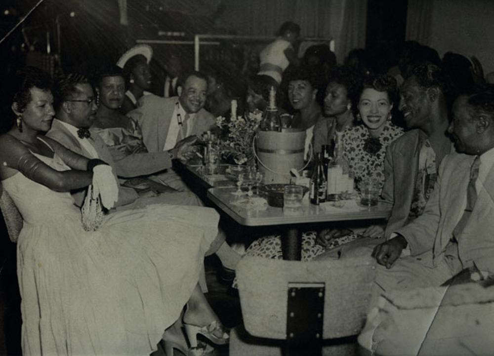 Nightlife at The Eldorado Ballroom in Houston's Third Ward, 1947.