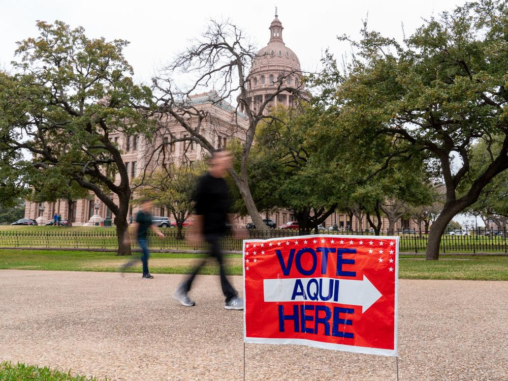 In Texas, vote-by-mail is only available to people over 65, not present in the state on election day, or who have a disability.
