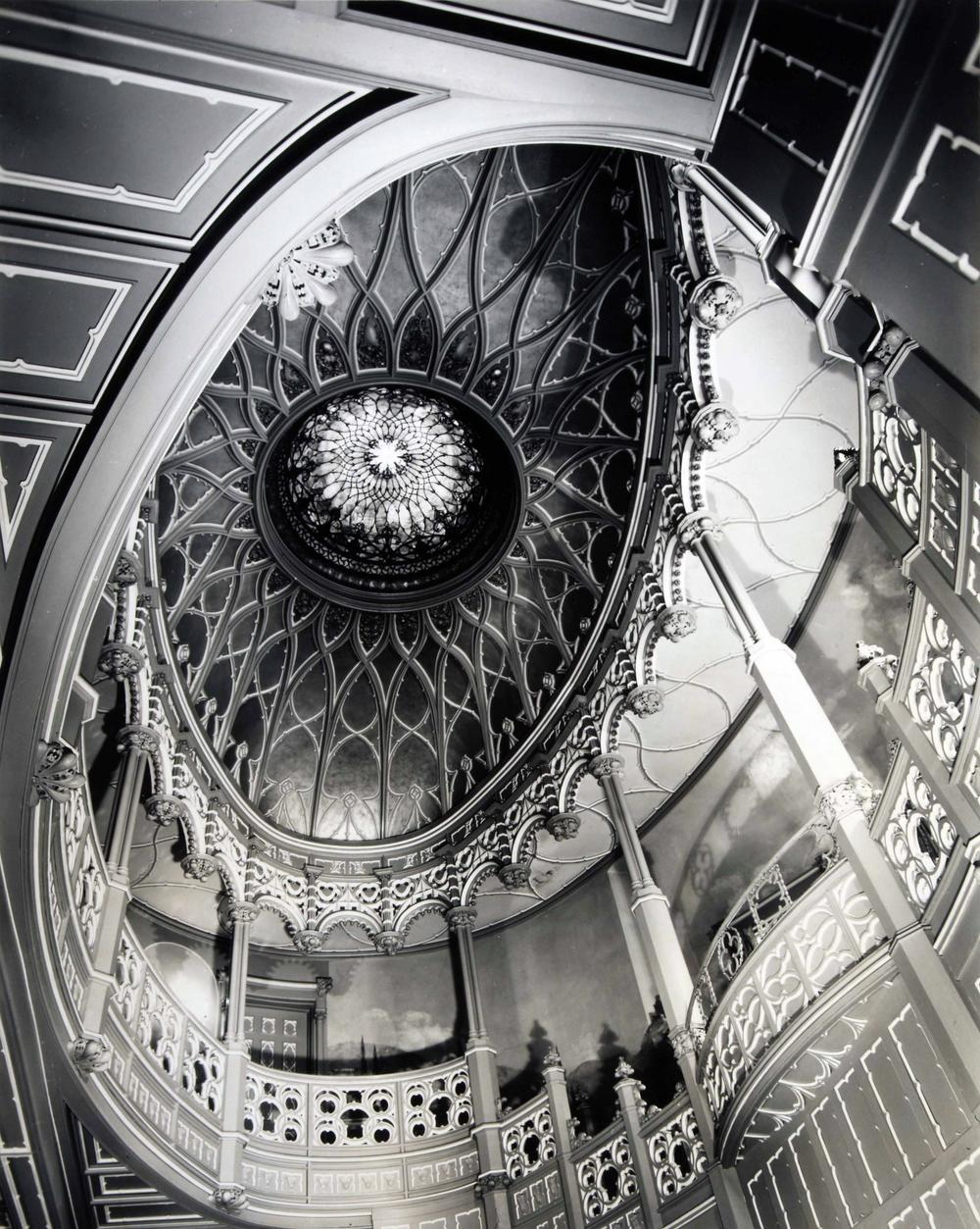 Clarence John Laughlin (American, 1905-1985), The Improbable Dome (No. 1), 1965, gelatin silver print. High Museum of Art, Atlanta, gift of Joshua Mann Pailet in honor of his mother, Charlotte Mann Pailet, her family, and Sir Nicholas Winton, 2017.427.