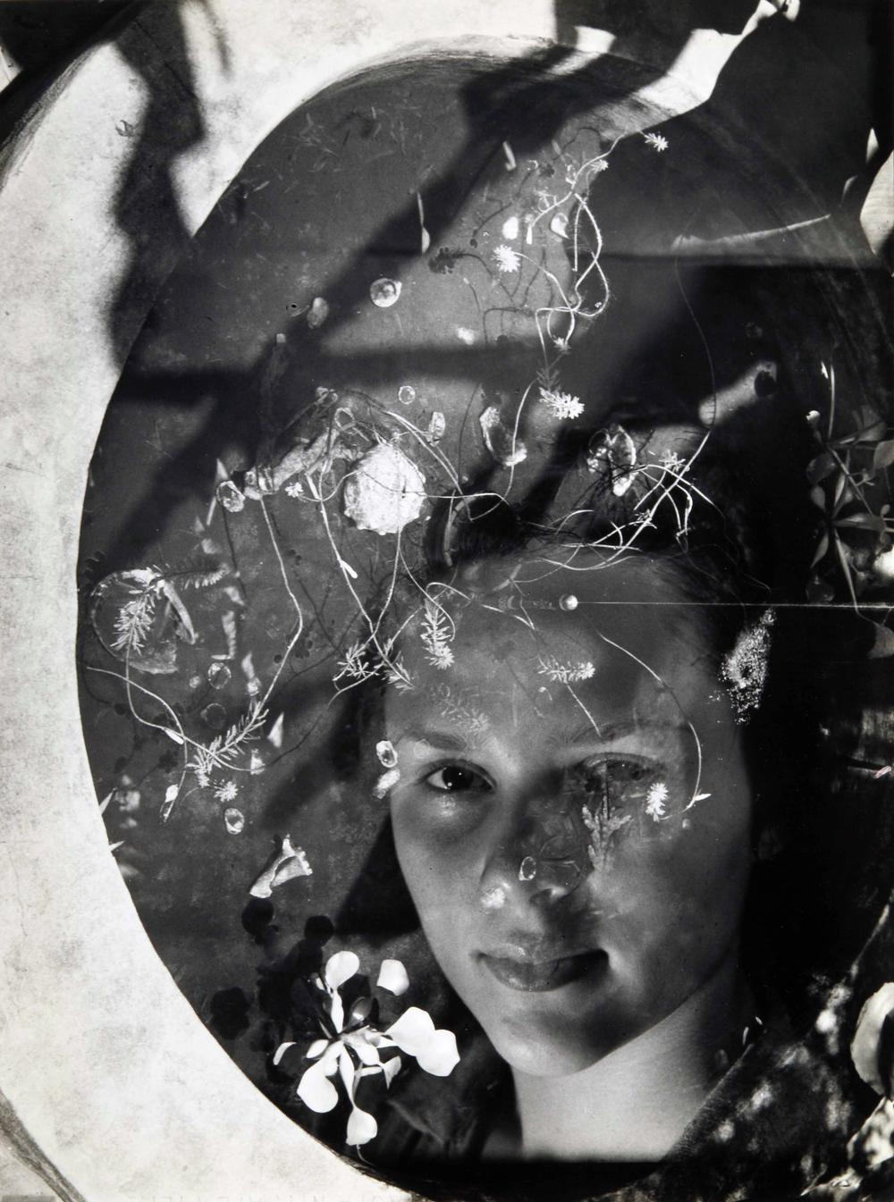 Clarence John Laughlin (American, 1905-1985), Water Witch, 1939, printed 1940, gelatin silver print. High Museum of Art, Atlanta, purchase, 1978.63.