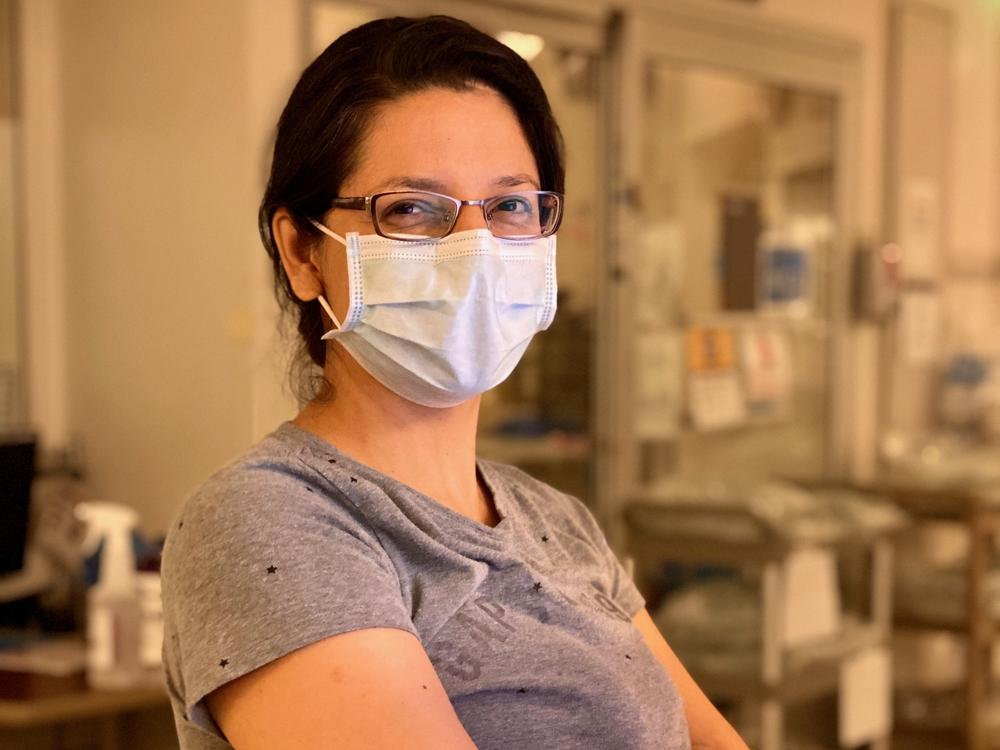 Dr. Dinora Chinchilla is finally taking a month off after working seven consecutive months.