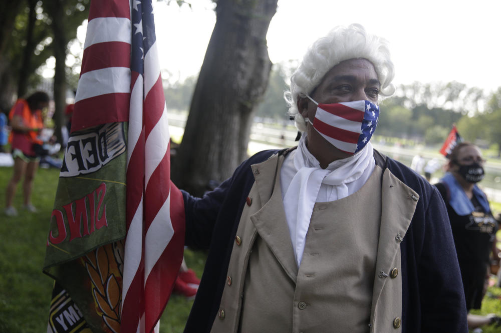 Ricardo 'The Patriot' from Polk City, Florida - Black people have been here since before the United States was a country...and people forget that.