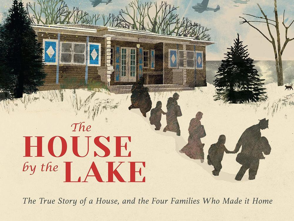 <em>The House by the Lake: The True Story of a House, Its History, and the Four Families Who Made It Home,</em> by Thomas Harding. Illustrated by Britta Teckentrup