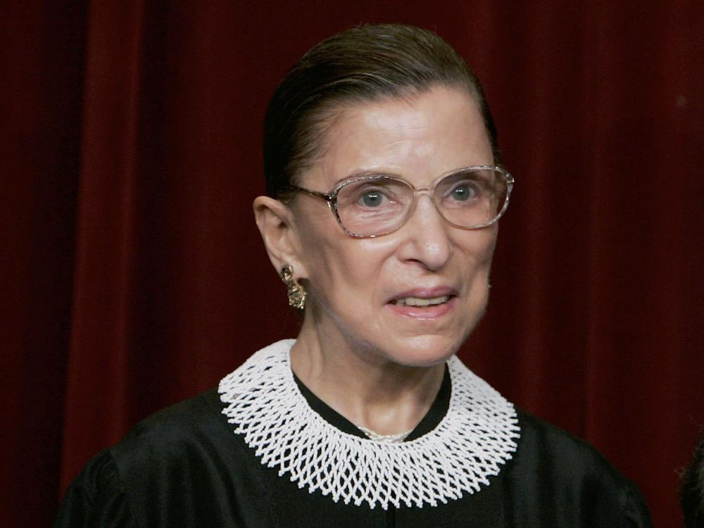 As a litigator in the 1970s, Ruth Bader Ginsburg's arguments before the Supreme Court were rooted in her own experience with discrimination.