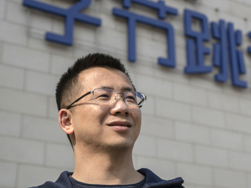 The Justice Department lawyers say ByteDance CEO Zhang Yiming has made public statements showing he is