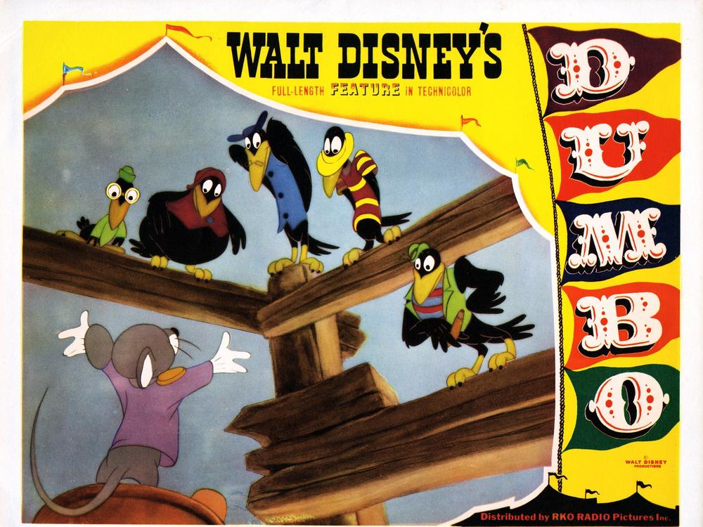 Disney added a warning on its streaming service to some of its titles with racist depictions, including <em>Dumbo</em>. The crows' appearance and musical number in the movie