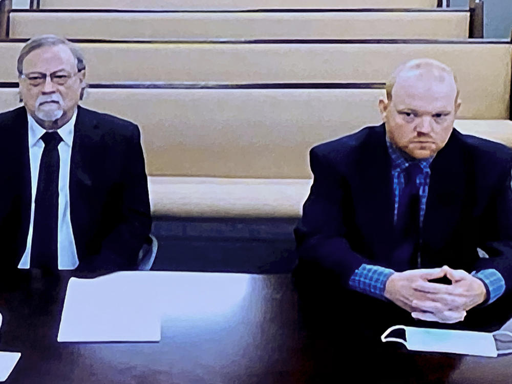 Lawyers for father and son, Gregory and Travis McMichael, asked for a judge to grant bond for the pair, saying the elder McMichael was not motivated by race and that the younger man, never gets into trouble. But Judge Timothy Walmsley on Friday denied their requests.