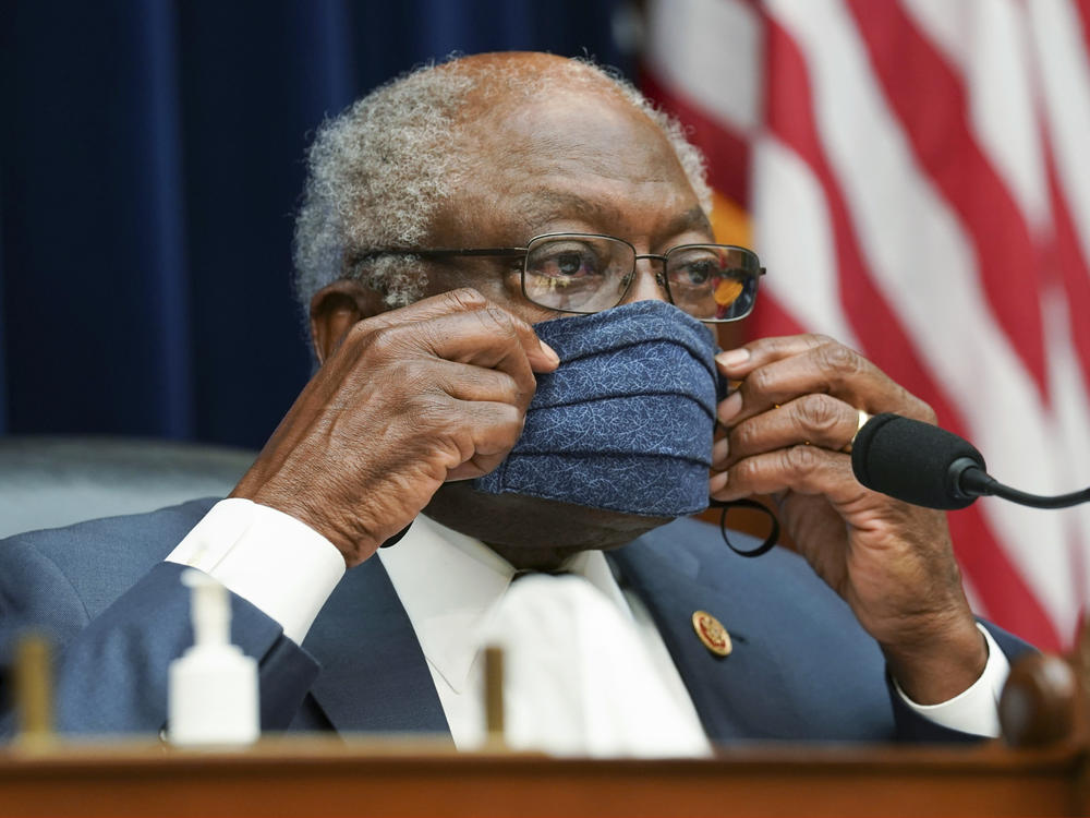 Rep. James Clyburn, D-S.C., who chairs the House's panel on the coronavirus, warned that if the Department of Health and Human Services failed to produce all missing documents by Dec. 15, the panel
