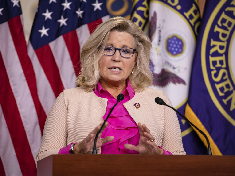 Rep. Liz Cheney of Wyoming is one of 10 House Republicans who voted to impeach President Trump.