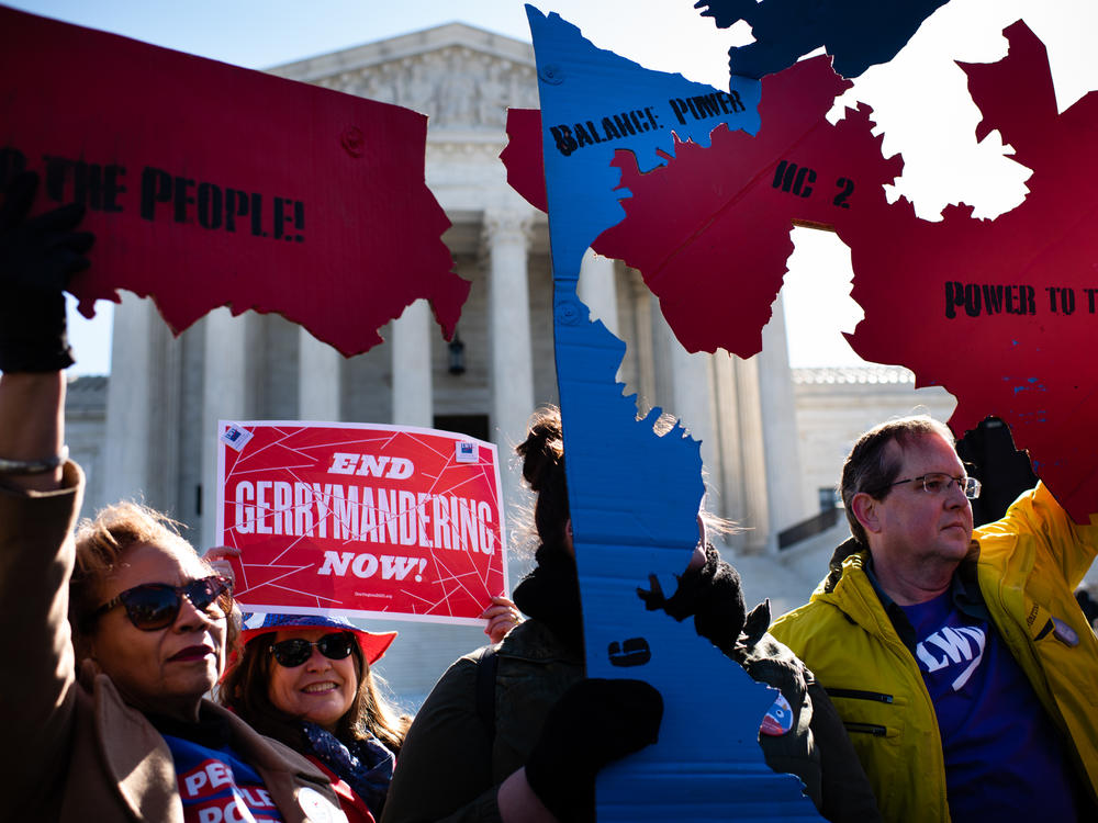 Legal fights over the use of census data brought protesters to the Supreme Court in 2019.